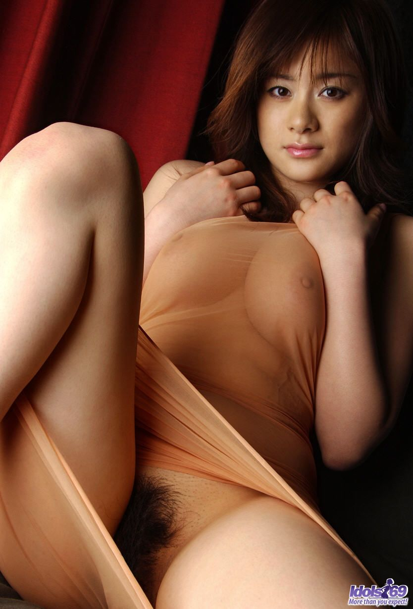 sumire aida   hot japanese model shows off her tits